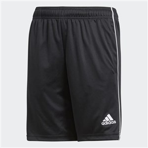 Core 18 Training Shorts Black,White