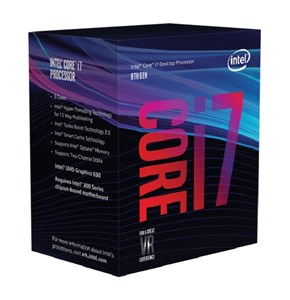 Image of   Core i7-8700 processor 3,2 GHz Kasse 12 MB Smart Cache