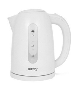 Camry CR 1254W electric kettle 1.7 L White 2200 W