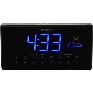 CR-718 Digital alarmur Sort