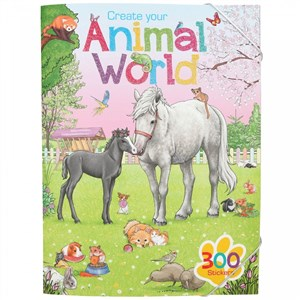 Depesche Create Your - Animal World Activity Book (411147)