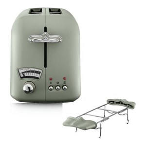Image of   CT021.GR Toaster, Grey