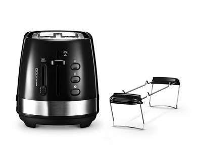 Image of   Active Line Toaster, Black CTLA2103.BK