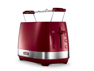 Image of   Active Line Toaster, Red CTLA2103.R