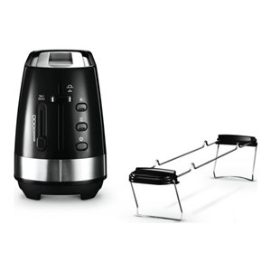 Image of   Active Line Long Toaster, Black CTLA3103.BK