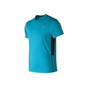 Kortærmet T-shirt til Mænd New Balance ACCELERATE Blå L