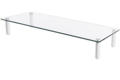 "Image of   DA-90358 flat panel desk mount 81.3 cm (32"") Freestanding Transparent"