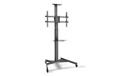"Image of   DA-90370 flat panel floorstand 177.8 cm (70"") Portable flat panel floor stand Black"