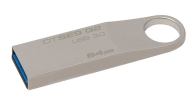 Kingston Technology DataTraveler SE9 G2 - USB 3.0-hukommelse, 64GB