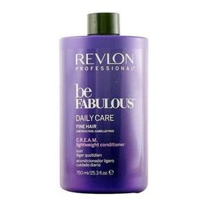 Hårbalsam til Fint Hår Be Fabulous Revlon