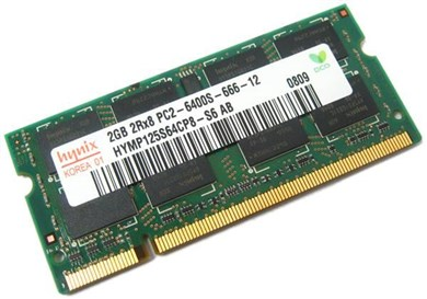 ASUS DDR2 667 SO-DIMM 2GB hukommelsesmodul 1 x 2 GB 667 Mhz