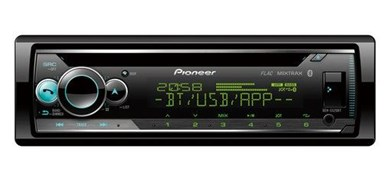Image of   DEH-S520BT bil media receiver Sort 200 W Bluetooth