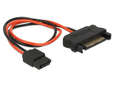 Image of   0.2m, SATA 15p/Slim SATA 6p 0,2 m