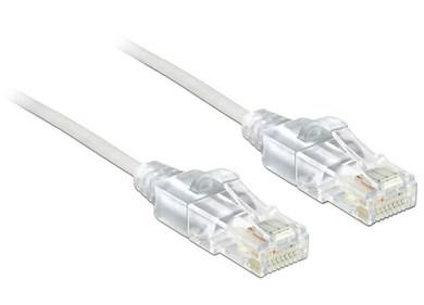 Image of   0.5m Cat.6, UTP netværkskabel 0,5 m Cat6 U/UTP (UTP) Hvid