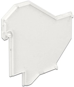 Image of   DeLOCK dækplade til DeLOCK 86212/86232, plast, hvid