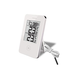Image of   Digital Inde/Ude Termometer & Ur