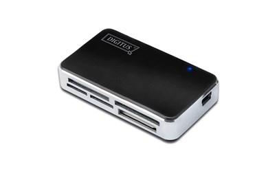 Image of   DA-70322-1 kortlæser Sort, Sølv USB 2.0