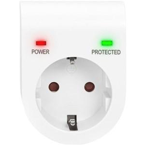 Image of   DN-95400 overspændingsbeskytter 1 AC stikkontakt(er) 230 V Hvid