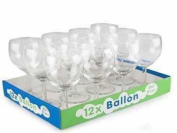 Image of   Ballon Rødv.25cl 12stk Glas