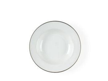 Image of   Dyb tallerken Argentum m/sølv Ø21