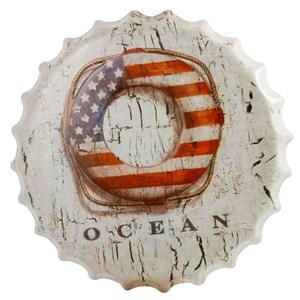 Image of   kapsel, metalophæng OCEAN Ø40,,
