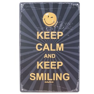 Image of   metalskilt KEEP CALM AND.... 20x30