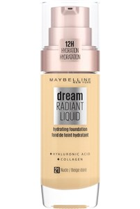 Image of   Dream Satin Liquid 21 Nude Beige Pumpeflaske Væske 30 ml