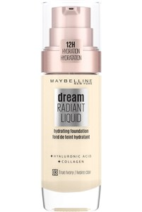 Image of   Dream Satin Liquid - 3 True Ivory - Foundation Pumpeflaske Væske 30 ml