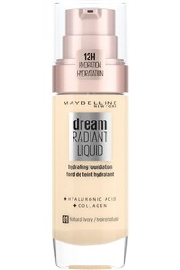 Image of   Dream Satin Satin Liquid - 1 Natural Ivory - Foundation Pumpeflaske Væske 30 ml
