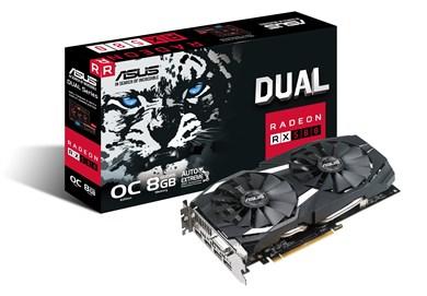 Image of   DUAL-RX580-O8G Radeon RX 580 8 GB GDDR5
