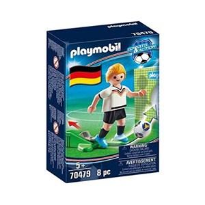 Dukke Football Player Germany Playmobil 70479 (8 pcs)