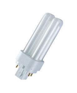 Image of   Dulux D/E neonlampe 10 W G24q-1 Varm hvid A