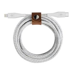 DuraTek Plus Lightning to USB-C Cable, White (1.2m)