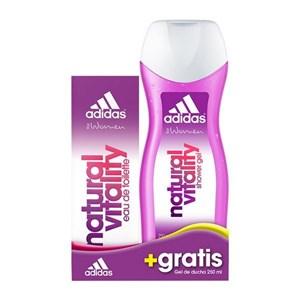 Image of   Parfume sæt til kvinder Natural Vitality Adidas (2 pcs)
