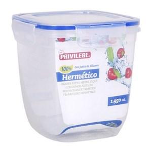 Billede af Hermetisk madkasse Privilege Gennemsigtig 5000 ml