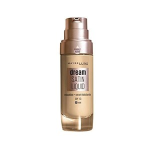 Image of   Flydende makeup foundation Dream Satin Liquid Maybelline (30 ml) 40 - Sun beige