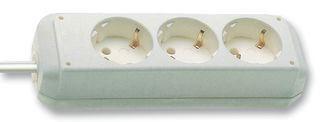 Image of   Eco-Line overspændingsbeskytter 3 AC stikkontakt(er) 1,5 m Hvid