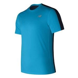 Kortærmet T-shirt til Mænd New Balance MT73061MLE Blå S