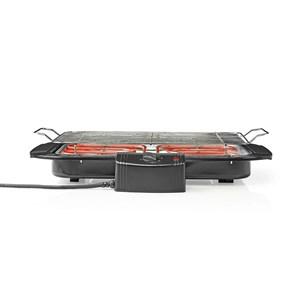 Image of   Elektrisk grill | Firkantet | 38 x 22 cm | 2000 W