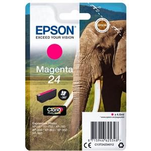 Elephant C13T24234012 blækpatron 1 stk Original Standard udbytte Magenta