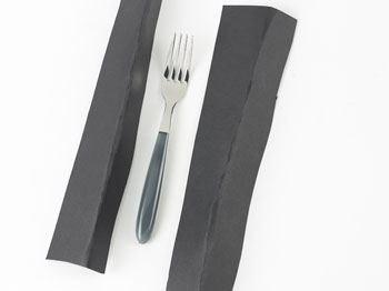 Image of   Bordgaffel Vero grå stål