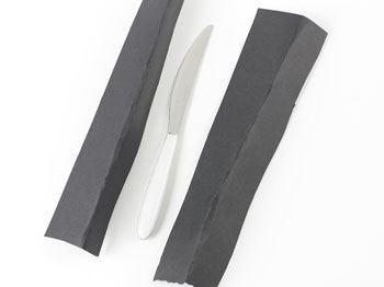 Image of   Bordkniv Vero hvid stål