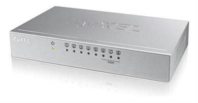 Image of   ES-108A v3, 8 Pors switch, 10/100Mbps, aluminium, gray