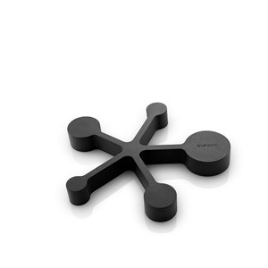 Bordskåner m/måleskeer Black 15,7x14x1,8 cm