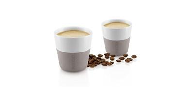 Image of   Espresso-krus, 2 stk. Warm grey 80 ml