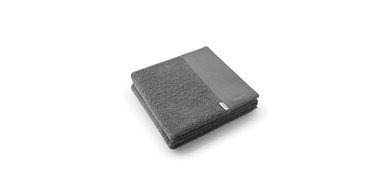 Håndklæde Dark grey 50x100 cm