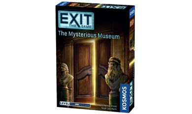Spilbræt Exit: The Mysterius Museum - Escape Room Game (English)