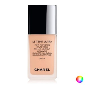 Image of   Flydende Makeup Foundation Le Teint Ultra Chanel 50 - beige 30 ml