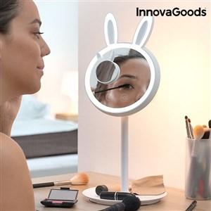 Image of   InnovaGoods 2 i 1 Mirrobbit makeupspejl med LED-lys