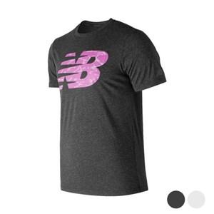 Kortærmet T-shirt til Mænd New Balance NB Fill Sort M